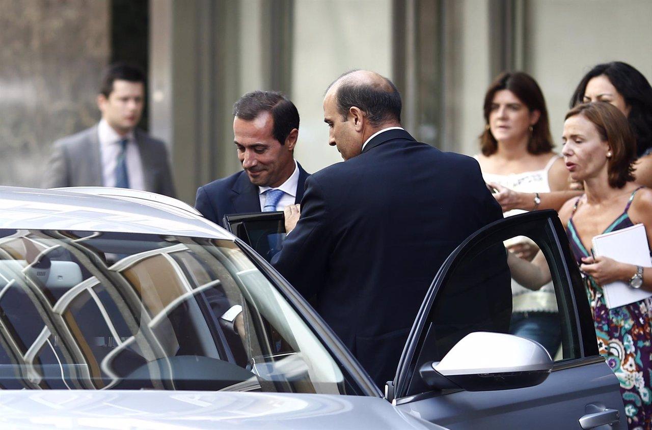 Salvador Victoria sale de declarar de la Audiencia Nacional