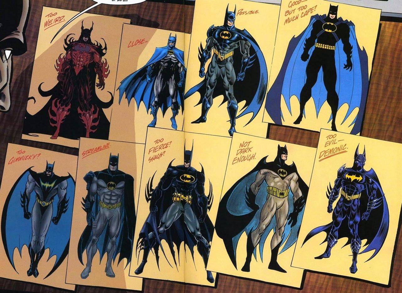 Batman Versiones
