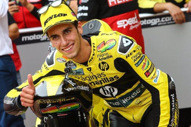 Álex Rins, piloto español de Moto2 del Páginas Amarillas HP