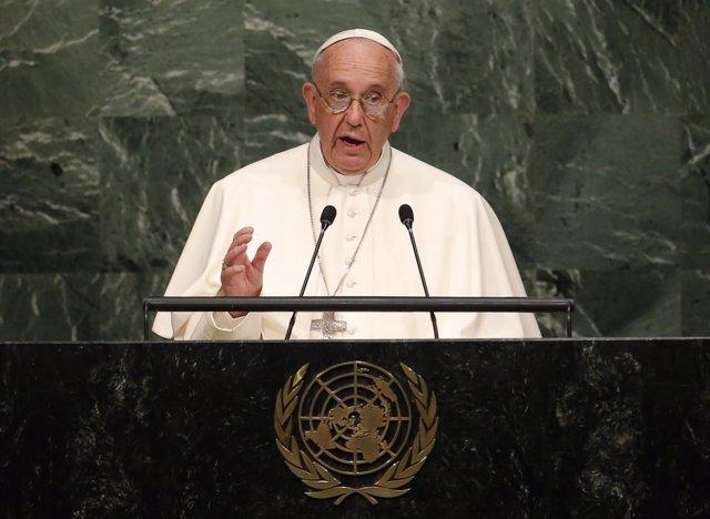 El Papa en la sede de la ONU en Nueva York