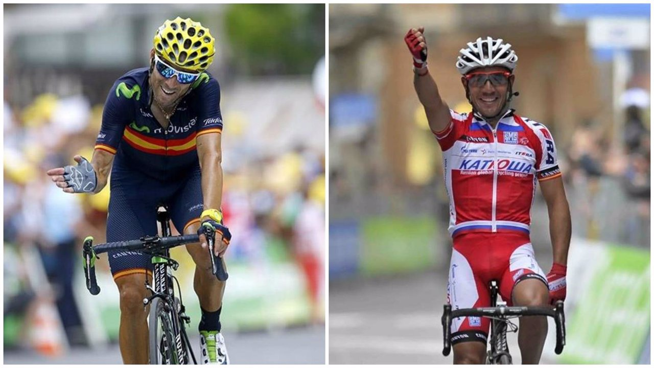 Valverde y Purito lideran la lista del Mundial