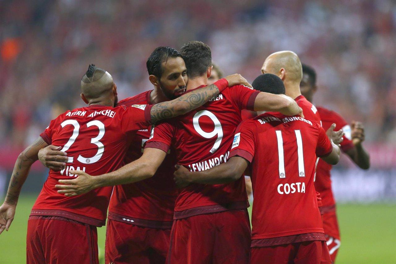 El Bayern arranca la Bundesliga con goleada (5-0) al Hamburgo
