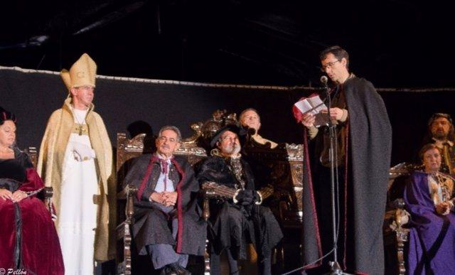 Recibimiento al emperador Carlos V