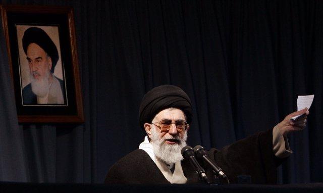 El ayatolá Alí Jamenei, líder supremo de Irán