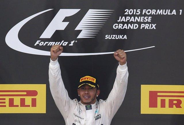 Mercedes Lewis Hamilton Japón