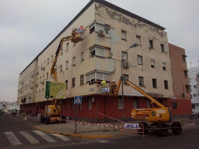 Rehabilitación de edificios plurifamiliares en la barriada de Rabesa.