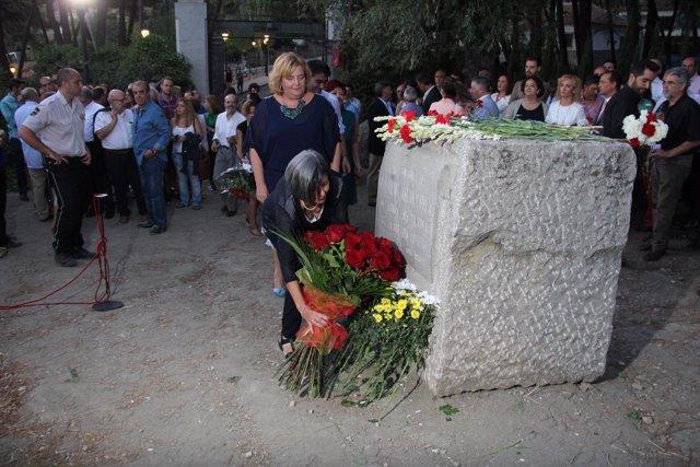 Acto de homenaje a García Lorca en Alfacar