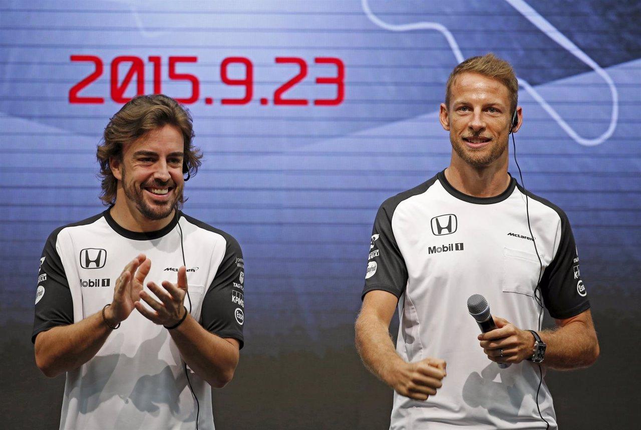 McLaren Fernando Alonso Jenson Button Japón