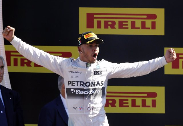 Lewis Hamilton Italia Monza