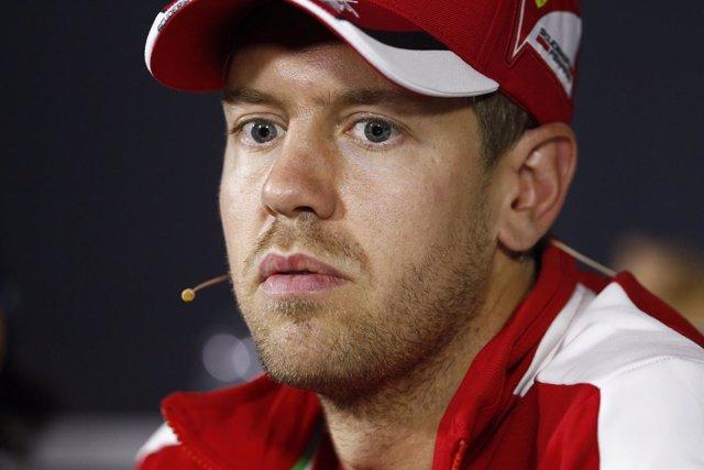 Sebastian Vettel en el Gran Premio de Italia