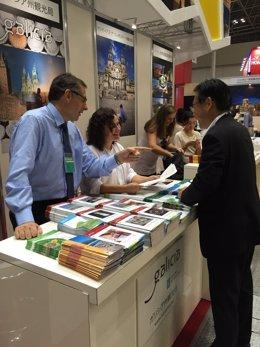 Presencia de Turismo de Galicia en la feria japonesa