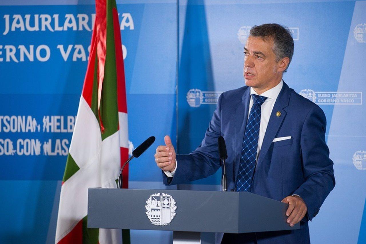 Iñigo Urkullu, Consejo de Gobierno tras el verano
