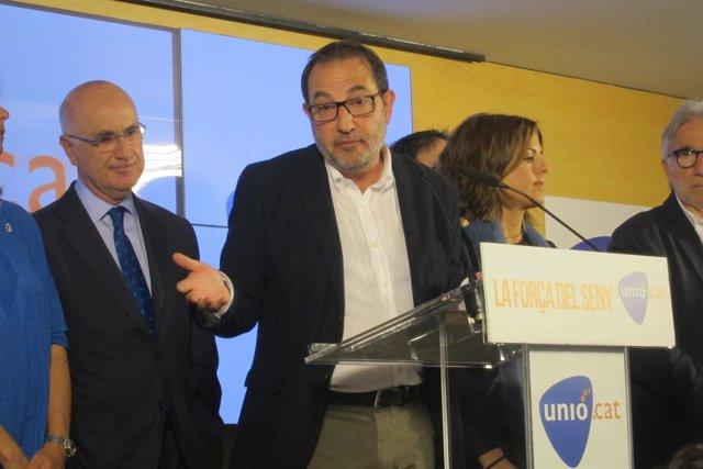 Ramon Espadaler (Unió) valora el 27S
