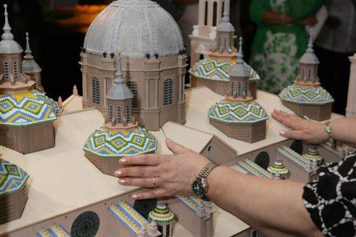 Maqueta accesible de la Basílica Nuestra Señora del Pilar