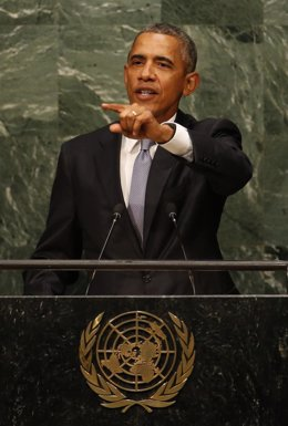 El presidente de Estados Unidos, Barack Obama, en la ONU