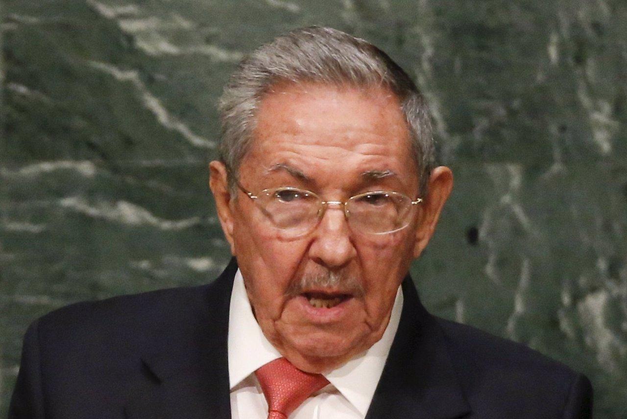 El presidente de Cuba, Raúl Castro, en la Asamblea General de la ONU