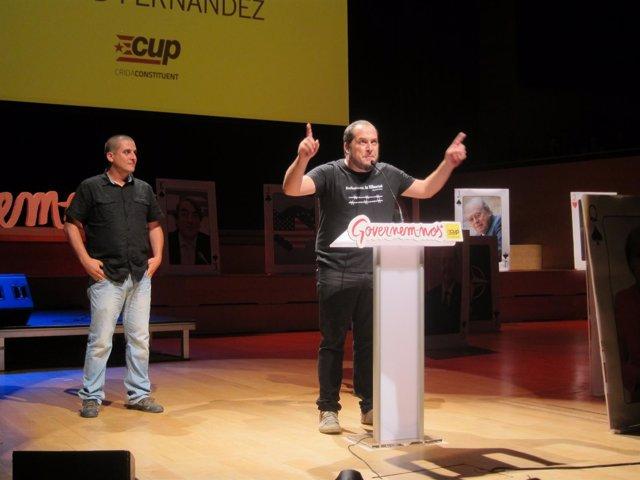 Quim Arrufat, David Fernández (CUP)