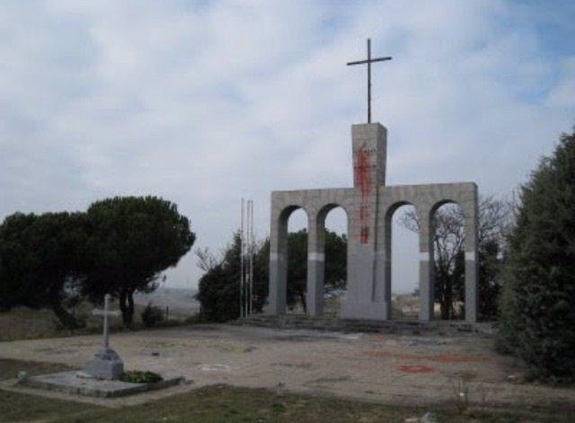 Monumento franquista en Majadahonda