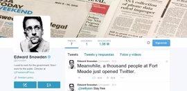 Snowden supera el millón de seguidores en Twitter en menos de 24 horas