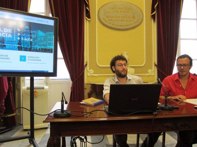 El alcalde de Cádiz presenta el nuevo 'Portal de Transparencia'