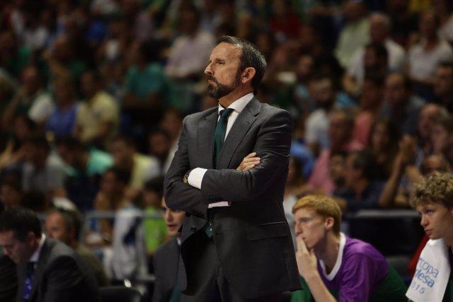 Joan Plaza, entrenador del Unicaja de Málaga