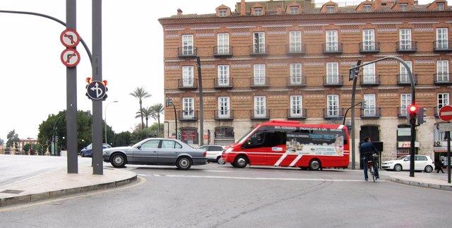 Autobús urbano 'colorao'