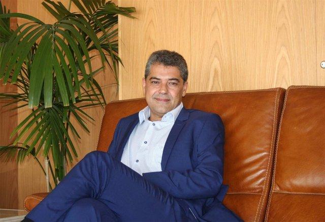 El rector de la Universidad de Almería, Carmelo Rodríguez