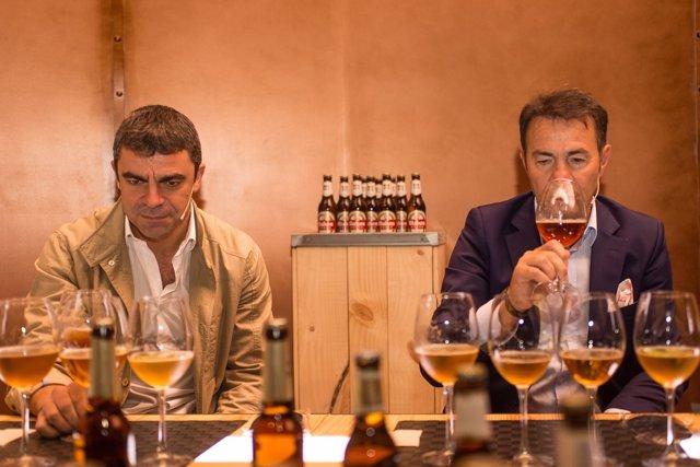 Manolo Sanchís y Abel Resino