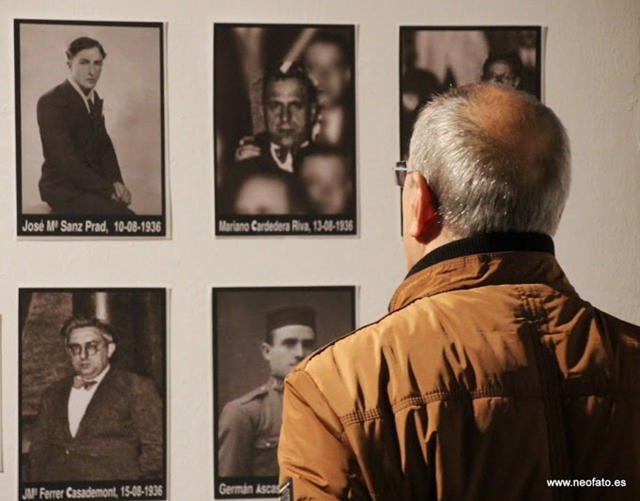 Exposición 'Huesca bajo el terror'.