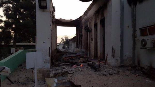 Hospital de MSF en Kunduz, en el norte de Afganistán