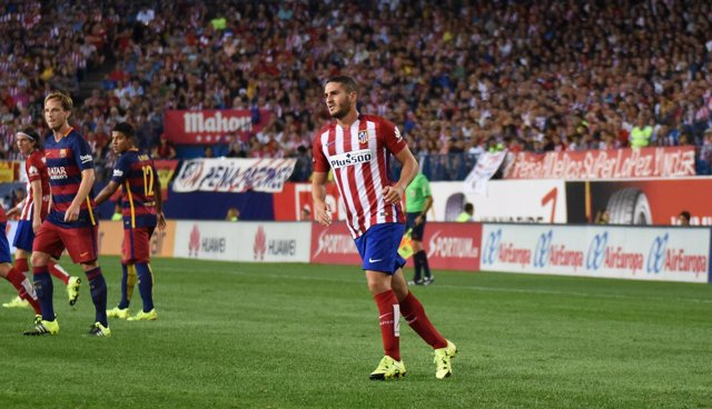 """Jorge Resurrección """"Koke"""".  Atlético de Madrid- F.C.Barcelona 12-09-2015"""