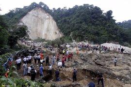 Ya son 33 los muertos por el desprendimiento de tierra de Guatemala