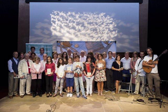 Participantes en el recital Tintas para la Vida VI
