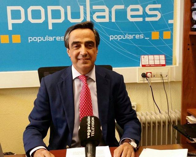 Ildefonso Calderón, portavoz del PP