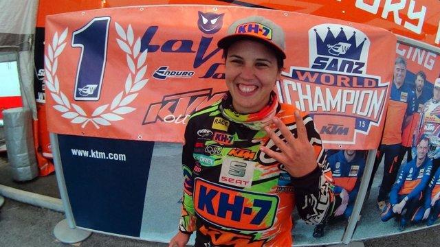Laia Sanz, campeona de Enduro por cuarta vez en su historia