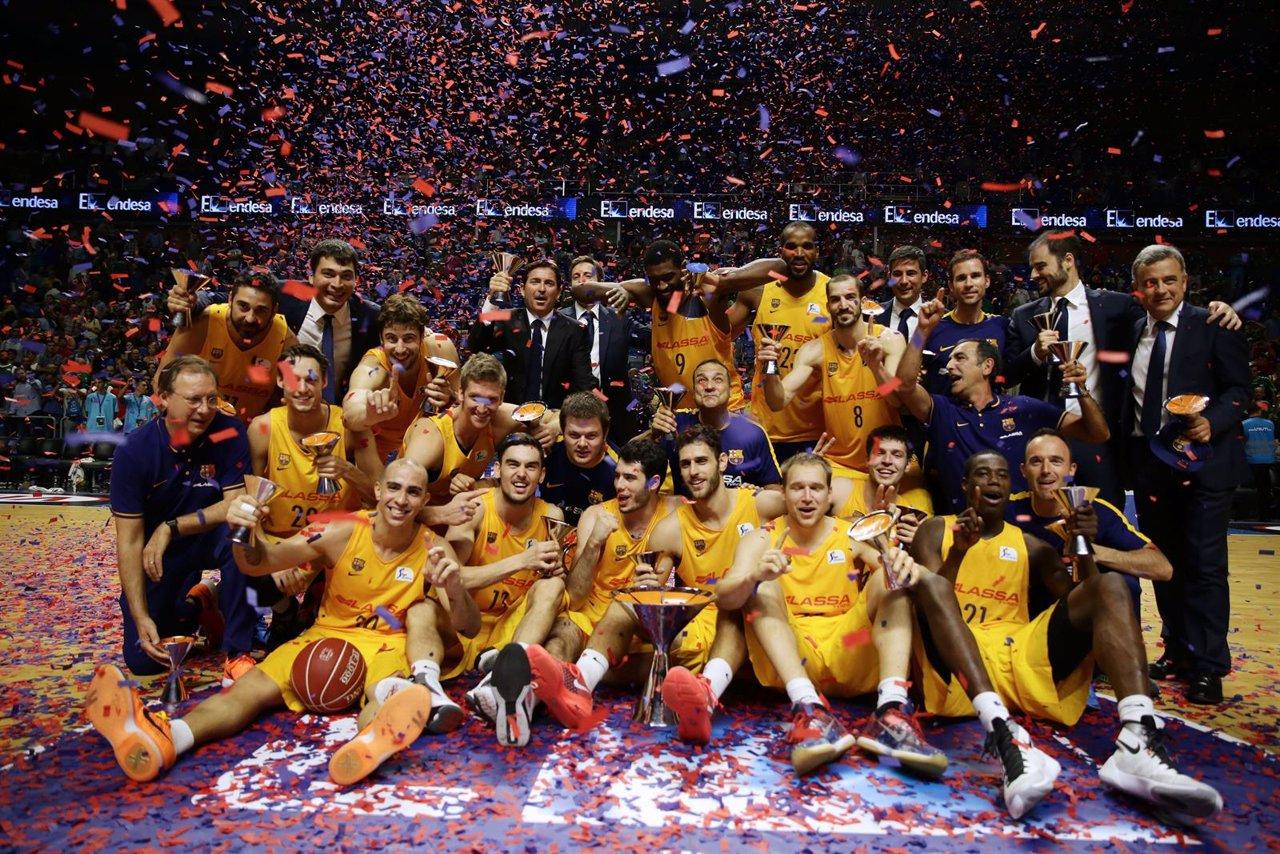 El Barcelona Lassa, campeón de la Supercopa Endesa