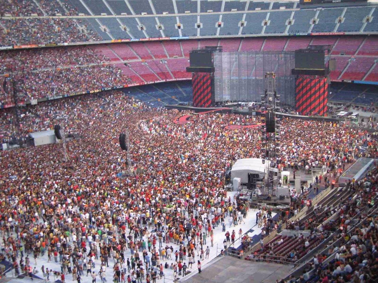 U2 en Barcelona en 2005