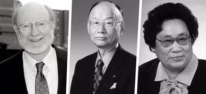 William C. Campbell, Satoshi Omura y Youyou Tu, galardonados con el Nobel de Medicina 2015