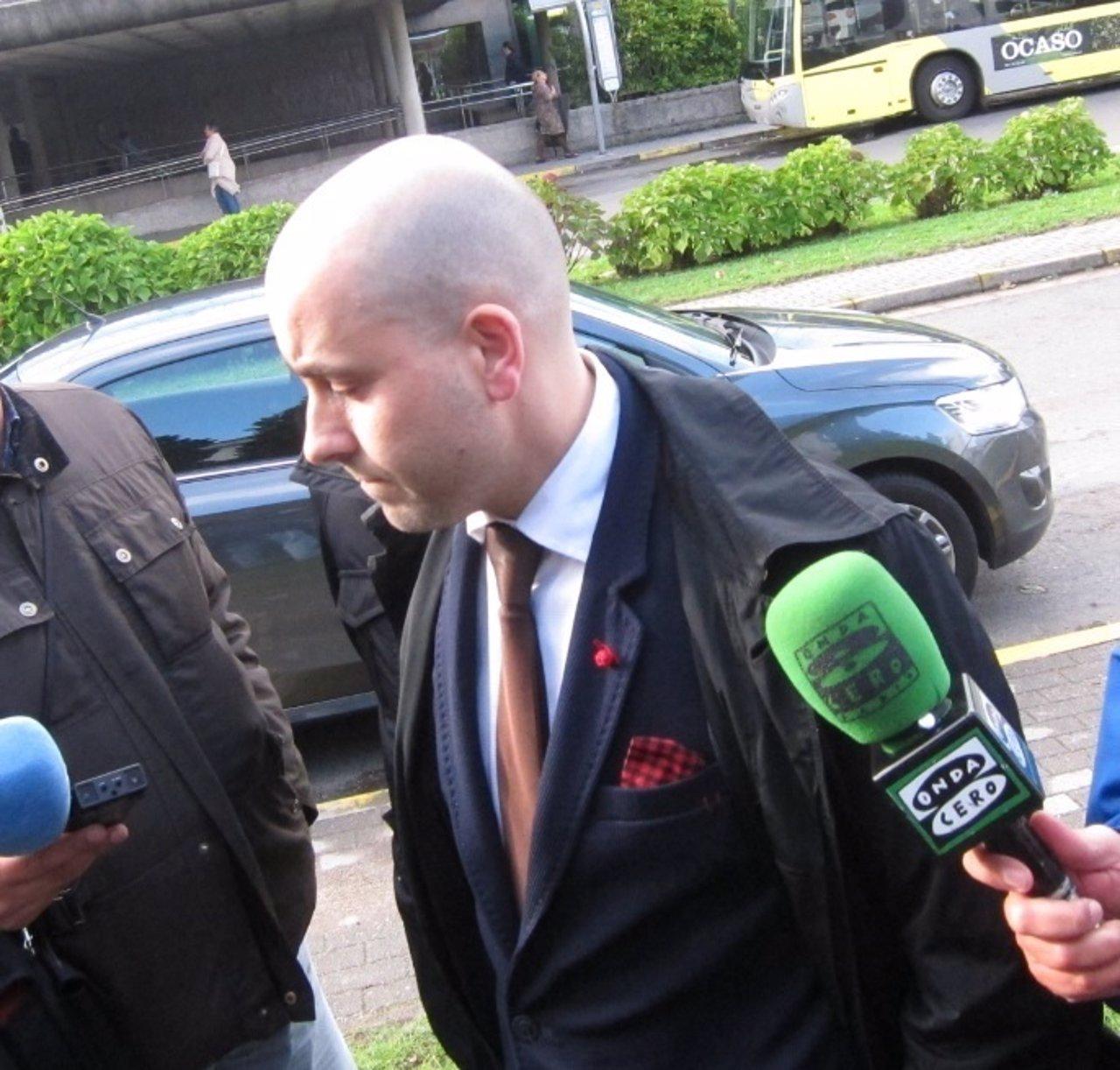 Abogado de la familia de Andrea, Sergio Campos, en declaraciones a la prensa