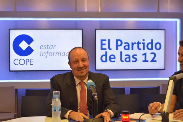 Rafa Benítez Real Madrid El Partido de las 12