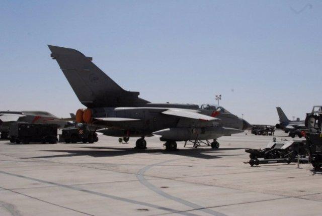 Avión Tornado del Ejército italiano