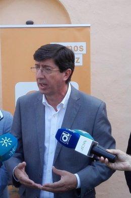 Juan Marín, presidente andaluz de Ciudadanos