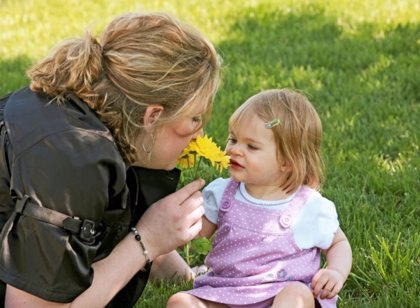 Aromas para tu bebé: la estimulación olfativa