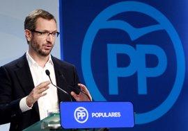 """Maroto (PP) asegua que """"sería un placer"""" contar con Aznar en la campaña de las elecciones generales"""
