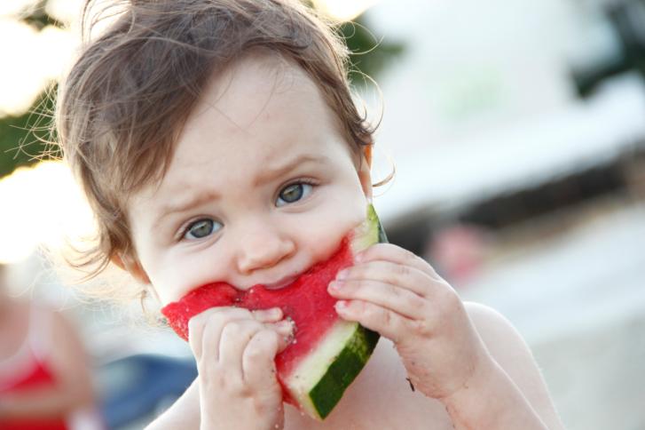 El sentido del gusto del bebé