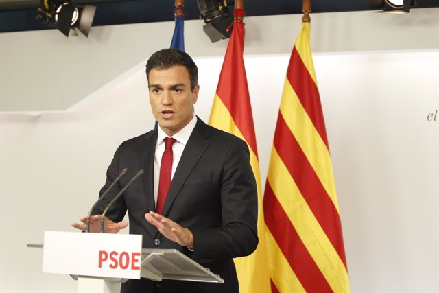 Pedro Sánchez tras las eleccioens catalanas