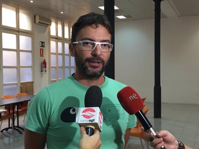 David Papiol, secretario de Igualdad de UGT Catalunya