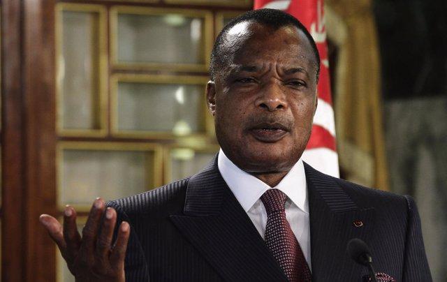 Denis Sassou Nguesso, presidente de Congo
