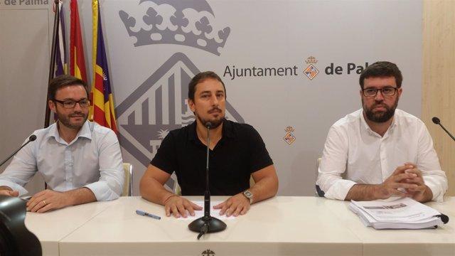 Comas anuncia su dimisión como regidor junto a Hila y Noguera