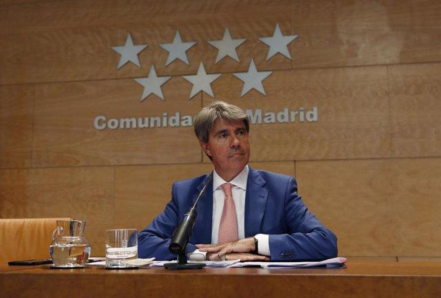Ángel Garrido en Consejo de Gobierno